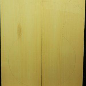 3A grade Yellow Cedar Archtop Guitar