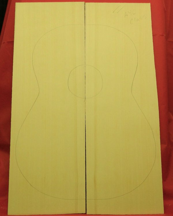 AA Classical Yellow Cedar soundboard