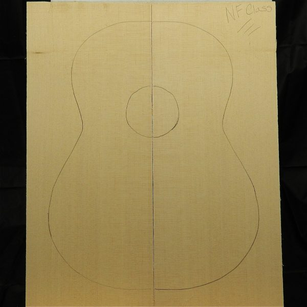Master classical Non-figured Sitka Spruce