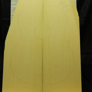 3A Yellow Cedar classical soundboard