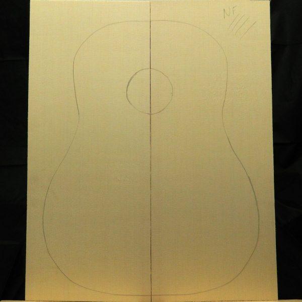 Master Dreadnought Guitar Non-figured Sitka Spruce