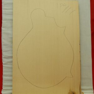 one piece Mandolin front