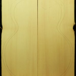 AA Archtop Plank cut