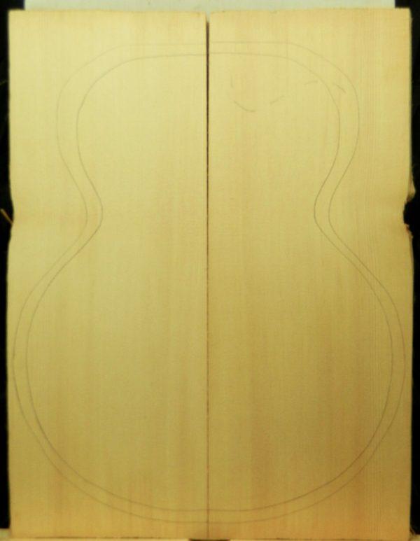 AA Archtop Plank cut