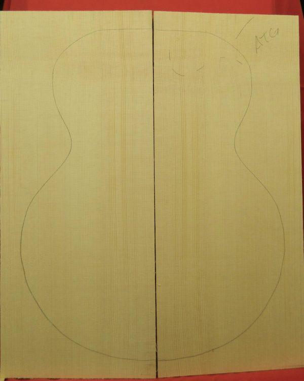 plank cut archtop guitar