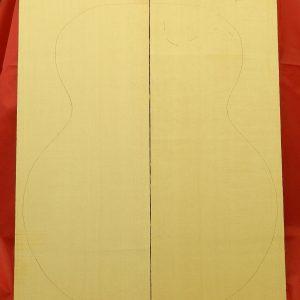 Master Grade Archtop Plank cut