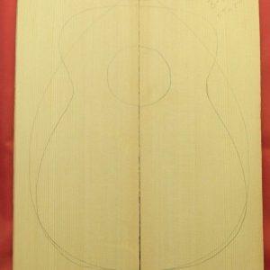 AA Sitka Flat-top Mandolin
