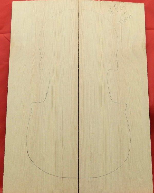 #2 Violin wedge