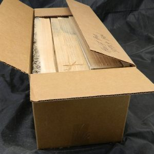 Half Box of sawn brace wood