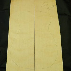 SPECIAL BEARCLAW FIGURED UKULELE VALUE 50 PACK Sitka Spruce