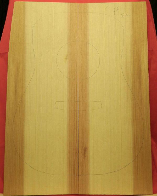 A Western Red Cedar Dreadnought Guitar