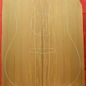EARTHTONE SORT RED CEDAR DREADNOUGHT GUITAR TOP SET