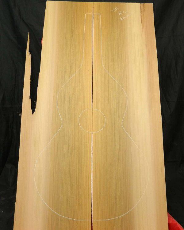 2A Red Cedar Non-Figure Float Log Weissenborn