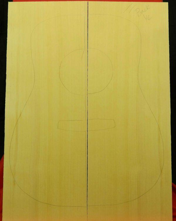 AA Classical Yellow Cedar Back Set