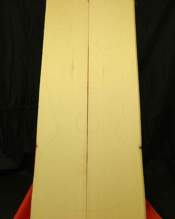 Medium- figured Bearclaw Dyer Harp