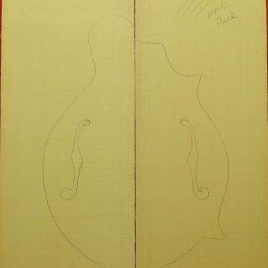 AAA/MSTR Mandolin plank