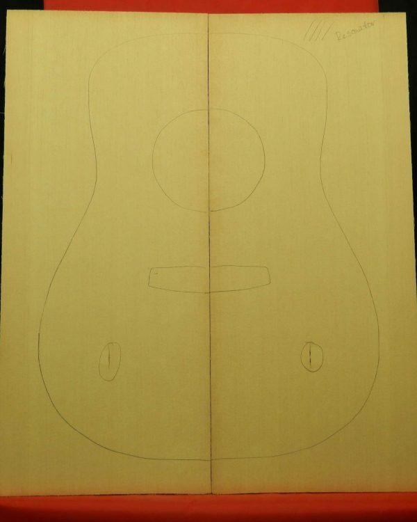High Grade Sitka spruce for resonator guitar
